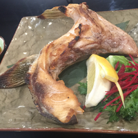 Grilled Yellow-tail Fish Collar